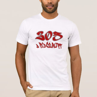 Rep Bridgeport (203) T-Shirt