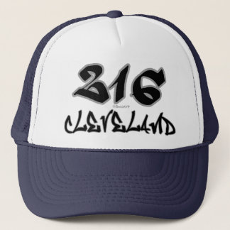 Rep Cleveland (216) Trucker Hat
