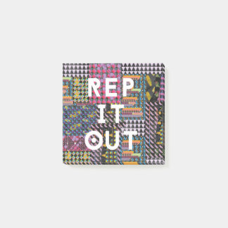 Rep it out - Richard Grannon Post-it Notes
