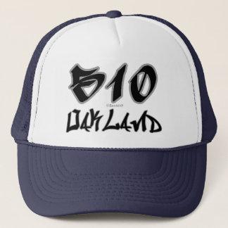 Rep Oakland (510) Trucker Hat