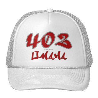 Rep Omaha (402) Hats