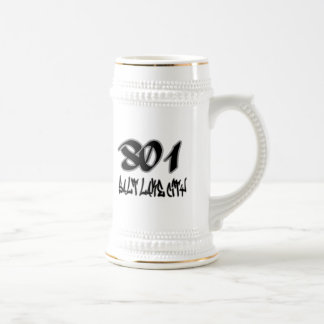 Rep Salt Lake City (801) Beer Stein