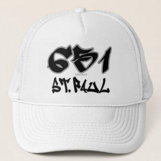 Rep St. Paul (651) Trucker Hat