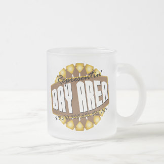 Rep The Bay Frosted Glass Coffee Mug