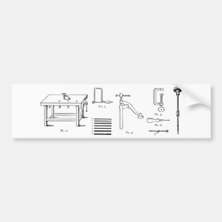 Repair Schematics Design Bumper Sticker