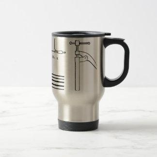 Repair Schematics Design Travel Mug