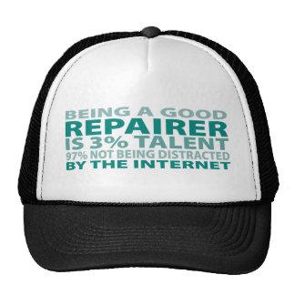 Repairer 3% Talent Mesh Hats