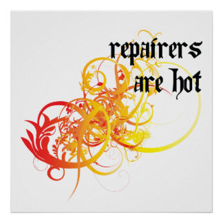 Repairers Are Hot Posters