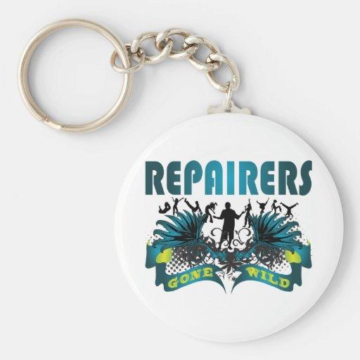 Repairers Gone Wild Keychain