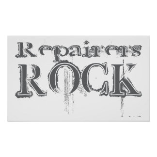Repairers Rock Poster