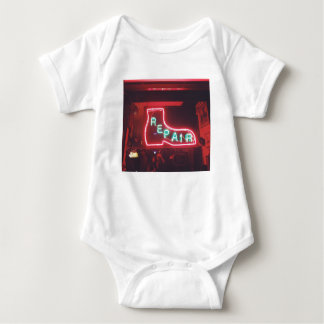 Repare Neon Sign NYC Baby Bodysuit