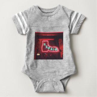 Repare Neon Sign NYC Baby Bodysuit