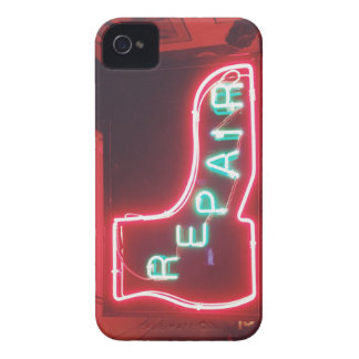 Repare Neon Sign NYC Case-Mate iPhone 4 Cases