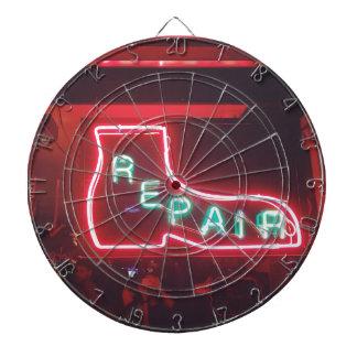 Repare Neon Sign NYC Dartboard