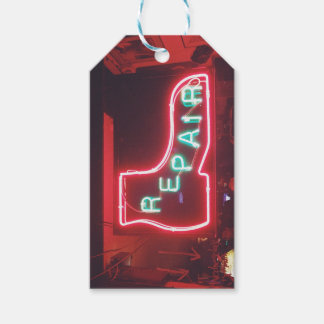 Repare Neon Sign NYC Gift Tags