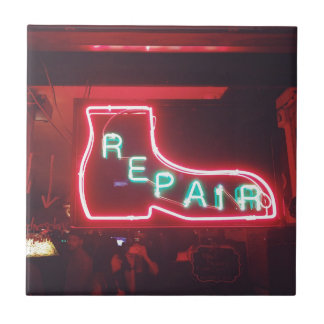 Repare Neon Sign NYC Tile