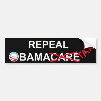 Repeal ObamaTax 2012 Bumper Sticker