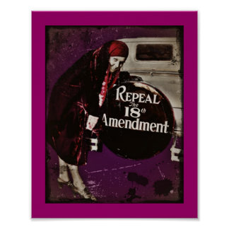 Repeal Prohibition Poster