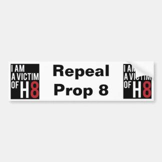 Repeal Prop 8 Bumper Sticker
