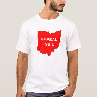 Repeal SB5 for Ohio's future T-Shirt