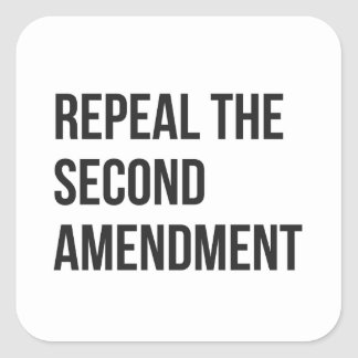 Repeal the Second Amendment - Sheet of Stickers