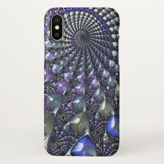 Repeating fractal iPhone X case