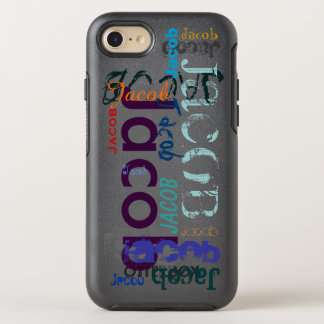 Repeating name 5 Letters iPhone OtterBox Symmetry iPhone 7 Case