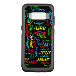Repeating Name OtterBox Symmetry Samsung Galaxy S8 OtterBox Commuter Samsung Galaxy S8 Case
