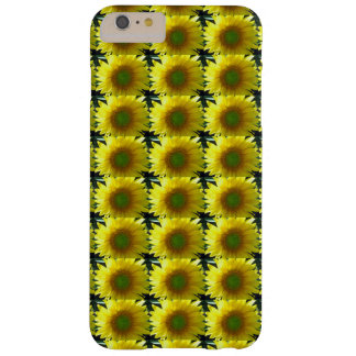 Repeating Sunflowers Barely There iPhone 6 Plus Case