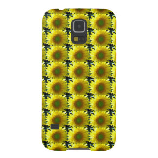 Repeating Sunflowers Galaxy S5 Covers