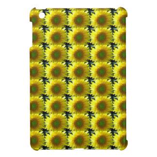Repeating Sunflowers iPad Mini Cases