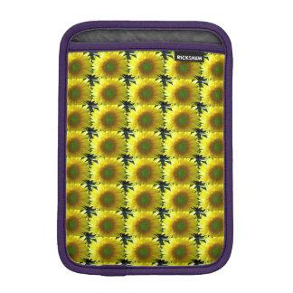 Repeating Sunflowers iPad Mini Sleeve