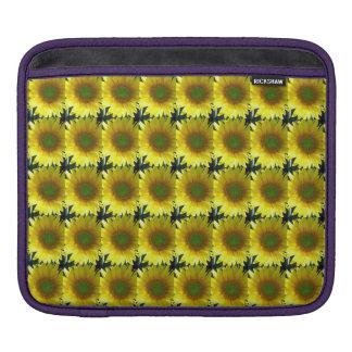 Repeating Sunflowers iPad Sleeve