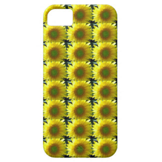 Repeating Sunflowers iPhone 5 Covers