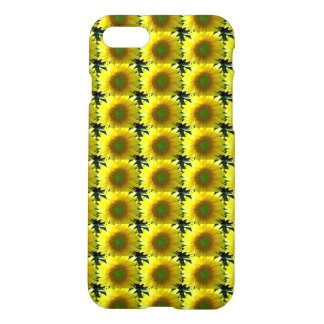 Repeating Sunflowers iPhone 7 Case