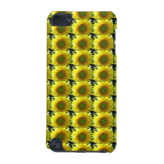 Repeating Sunflowers iPod Touch (5th Generation) Covers