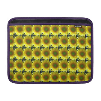 Repeating Sunflowers MacBook Sleeve
