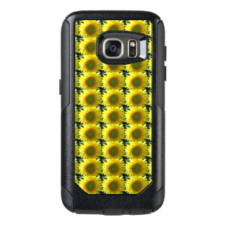 Repeating Sunflowers OtterBox Samsung Galaxy S7 Case