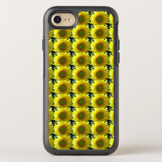 Repeating Sunflowers OtterBox Symmetry iPhone 7 Case