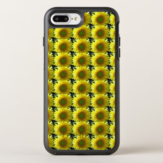 Repeating Sunflowers OtterBox Symmetry iPhone 7 Plus Case