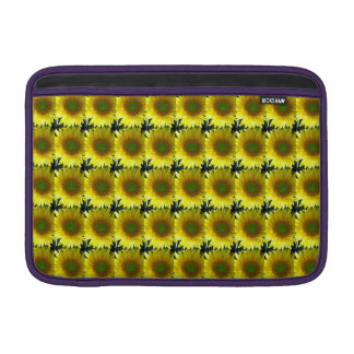 Repeating Sunflowers Sleeve For MacBook Air