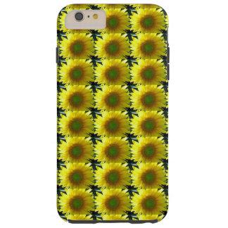 Repeating Sunflowers Tough iPhone 6 Plus Case