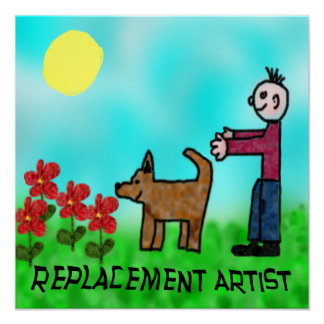 Replacement Artist Posters