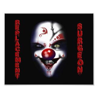 Replacement Surgeon - Evil Clown Photo