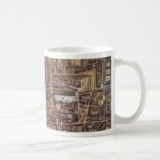 Replica city map of The Hague 1649 Coffee Mug