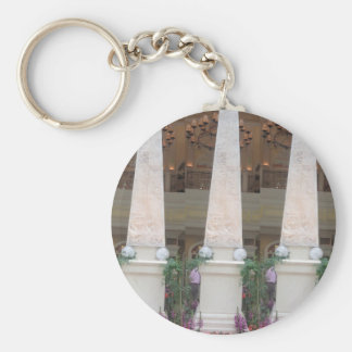 REPLICA Crystal Look TOWER - Photo by NAVIN JOSHI Basic Round Button Keychain