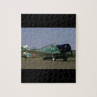 Replica Japanese Torpedo Bomber_WWII Planes Jigsaw Puzzle