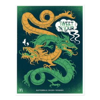 Replica - McDonalds Sweet n' Sour Sauce Postcard