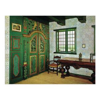 Replica Vintage  Danish Farmhouse, Folk Museum Postcard