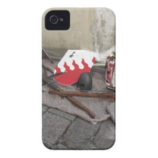 Replicas of medieval helmets, crossbows, shields Case-Mate iPhone 4 case